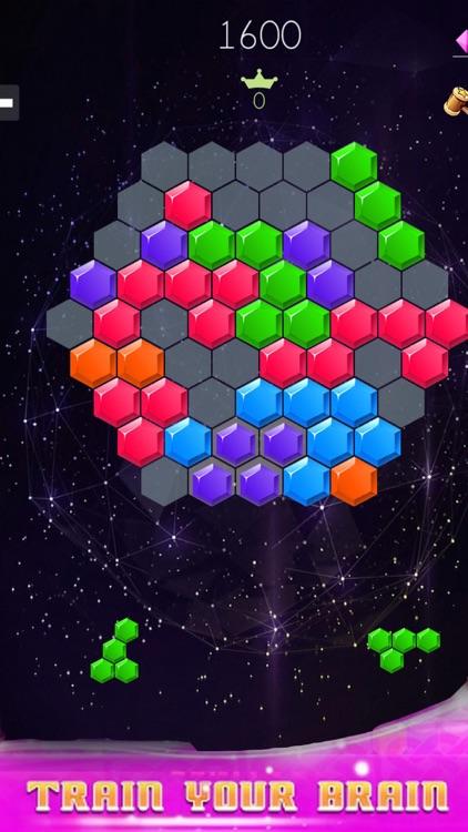 Hex Blast! Block Puzzle Game