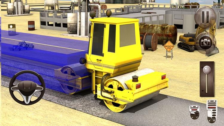 Road Construction Town Builder: Dump Truck Driver