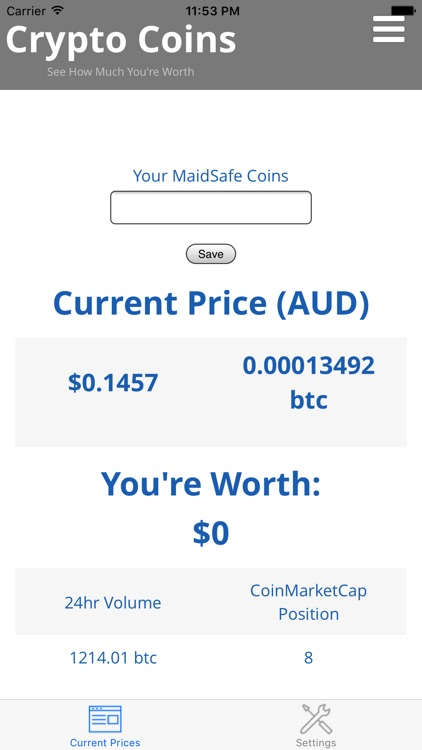 Crypto Coins