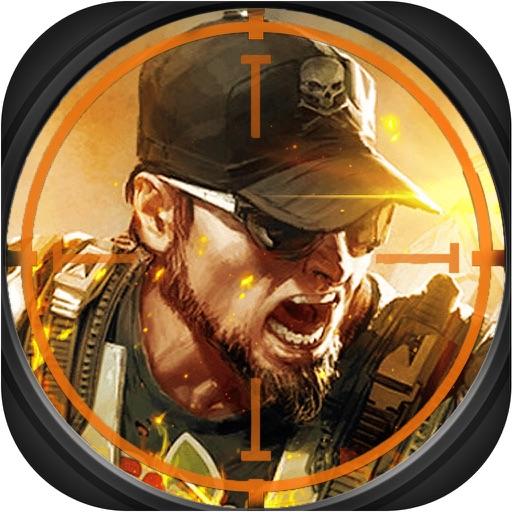 枪战射击打枪3D:成人枪械街机游戏 iOS App