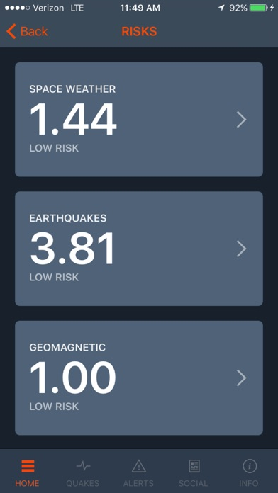 Screenshot #4 for Disaster Prediction App