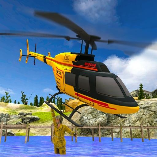 Вертолет спасения 2017 Бесплатный 3D - Flying Simu