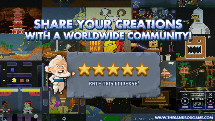 The Sandbox - Building & Crafting a Pixel World! screenshot-3