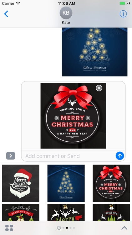 Holiday Stickers: Christmas & New Years