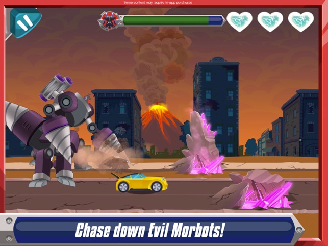 Transformers Rescue Bots Disaster Dash Hero Run On The App Store - Minecraft spiele poki