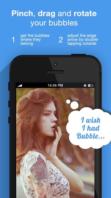 Bubble+ Add Speech Captions & Quotes to Photos screenshot-3
