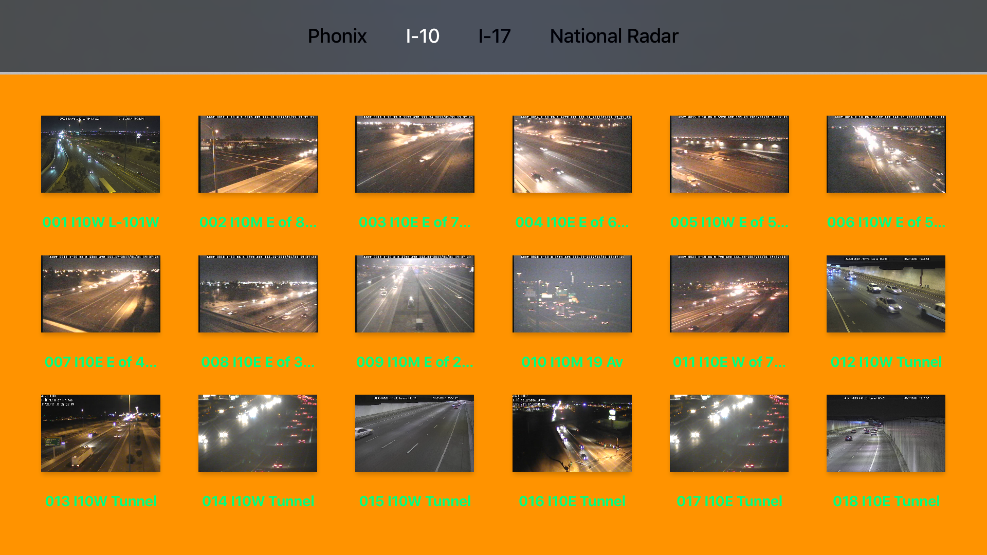 Arizona NOAA Radar with Traffic Camera 3D screenshot 10