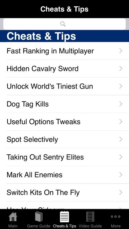 Pro Cheats - Battlefield 1 Guide Edition