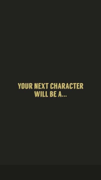 Character Design Generator