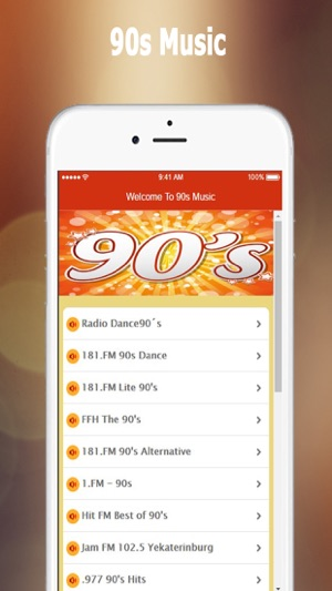 90s Music The Best Online Radio With 90s Songs On The App Store