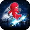 Agent Ninja Run 2 Pro - Space Surfer Social Play Edition