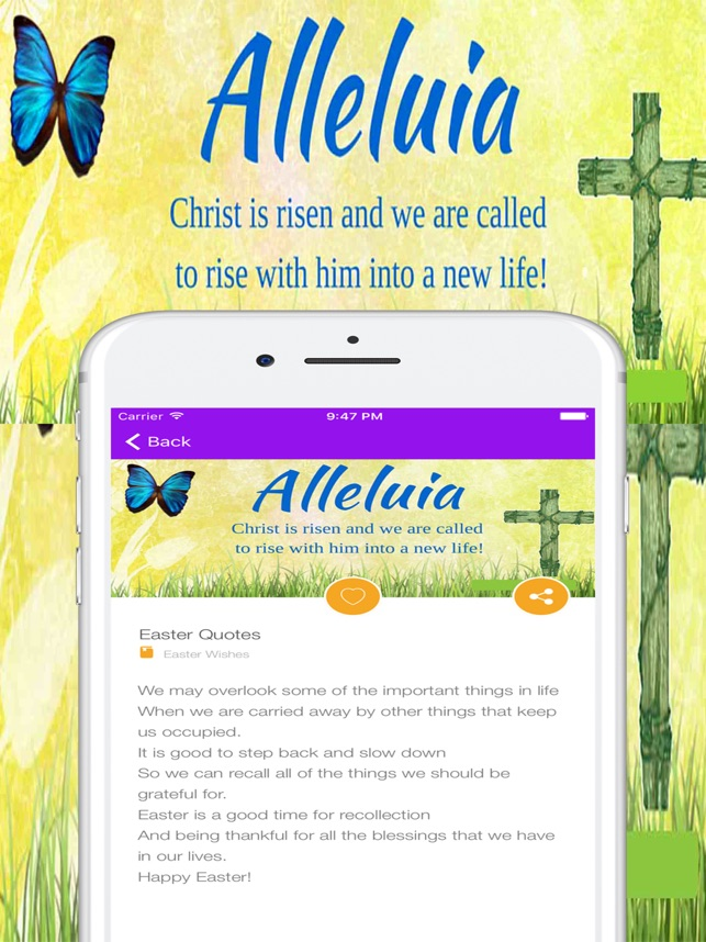 Easter Greetings Quotes Wishes Sayings & Messages on the App