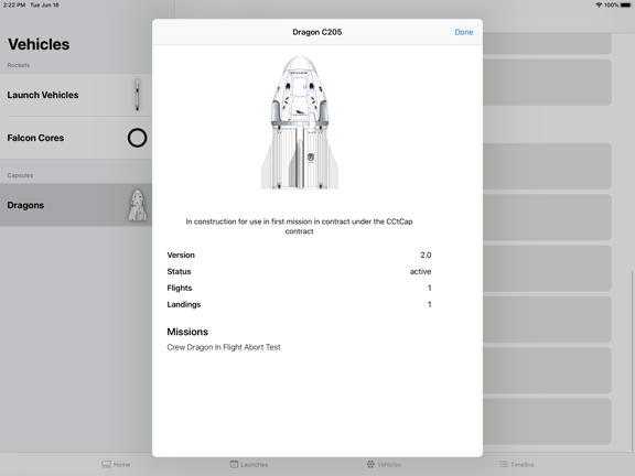 SpaceX Explorer screenshot 14