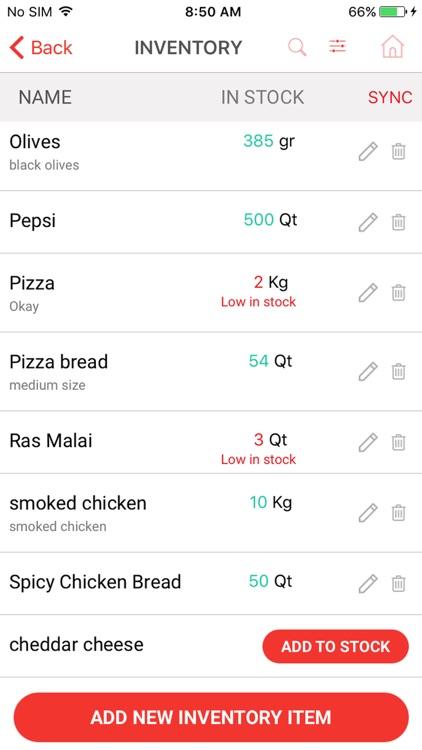NexMeals Point of Sale - POS screenshot-4