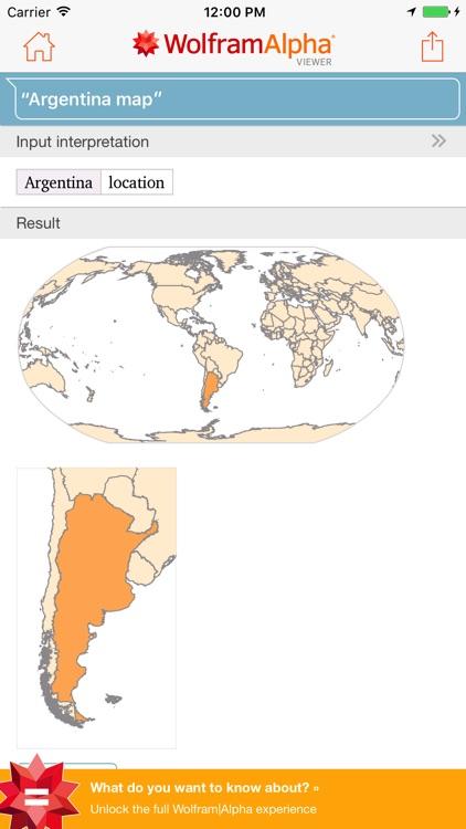 WolframAlpha Viewer screenshot-3