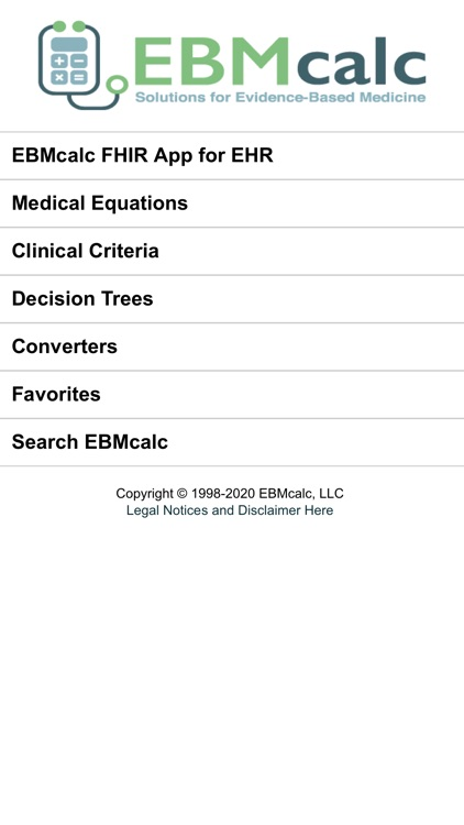 EBMcalc G.I. screenshot-0