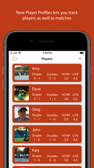 MatchTrack: Your Tennis Scorekeeper screenshot