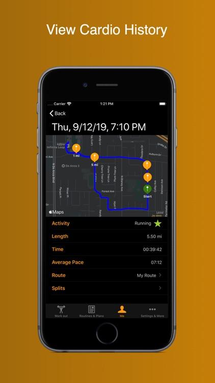 Gym Horn: Workout Tracker Log screenshot-4