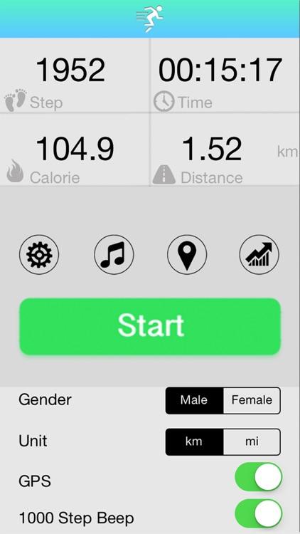 GPS Pedometer+ Running Tracker screenshot-4