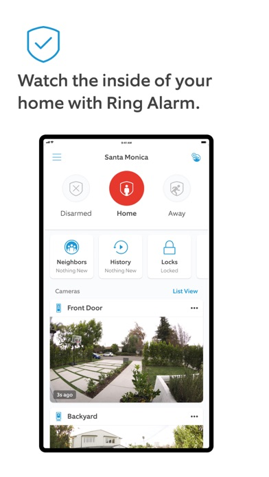 Screenshot for Ring - Always Home in Korea App Store