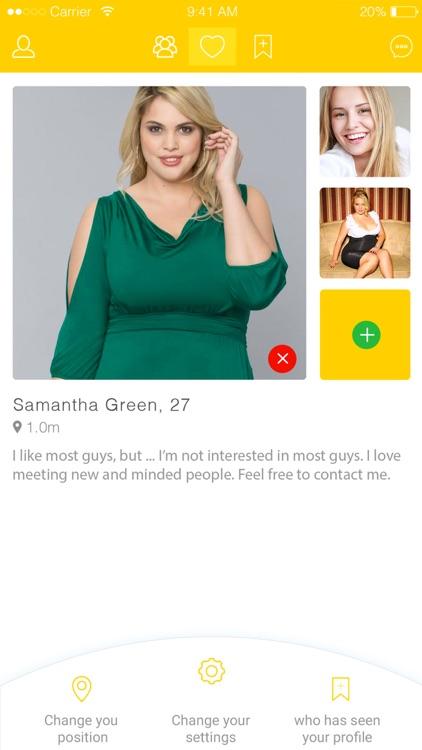 Beesize - BBW Dating screenshot-3