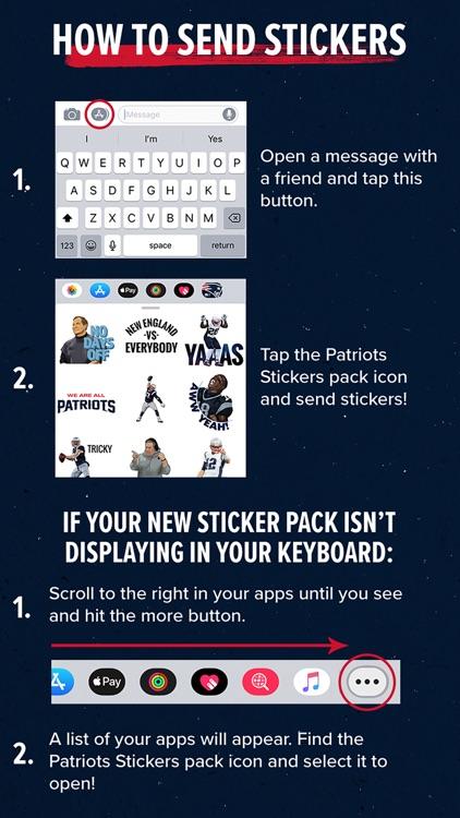 Patriots Stickers screenshot-5