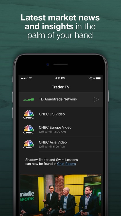 TD Ameritrade: Mobile Trader screenshot-2