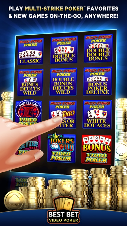 Best Bet Video Poker|50+ Games screenshot-0