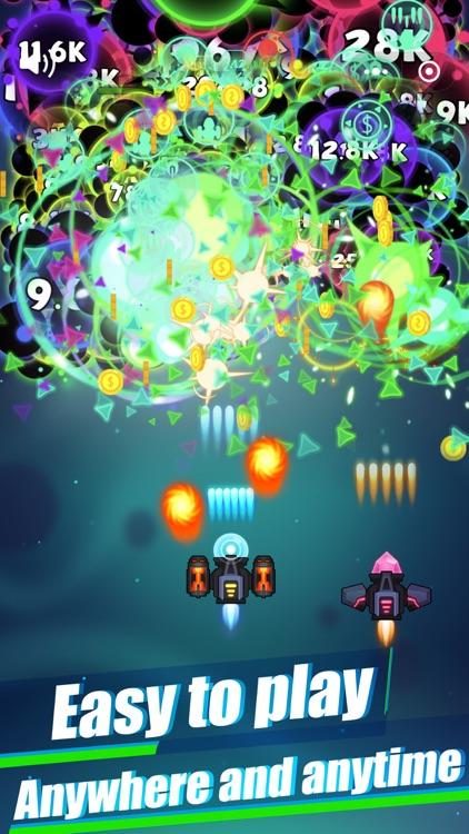 Virus War- Space Shooting Game screenshot-3