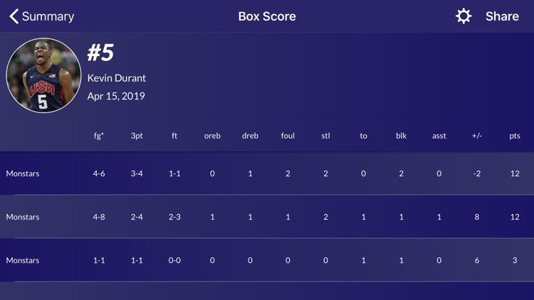 Easy Stats for Basketball screenshot-6