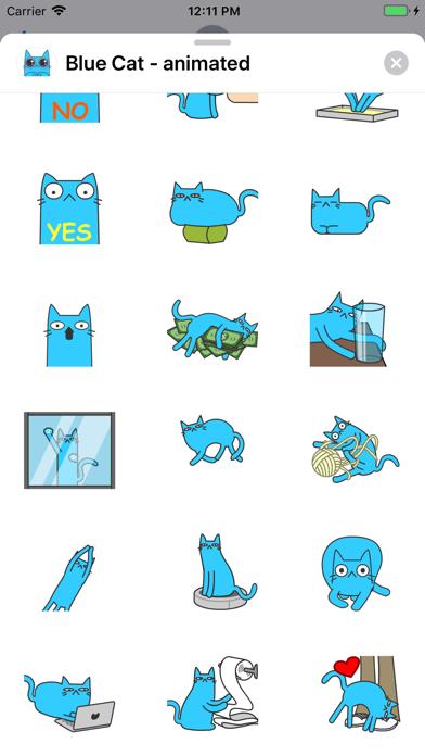 Blue Cat - animated screenshot 2