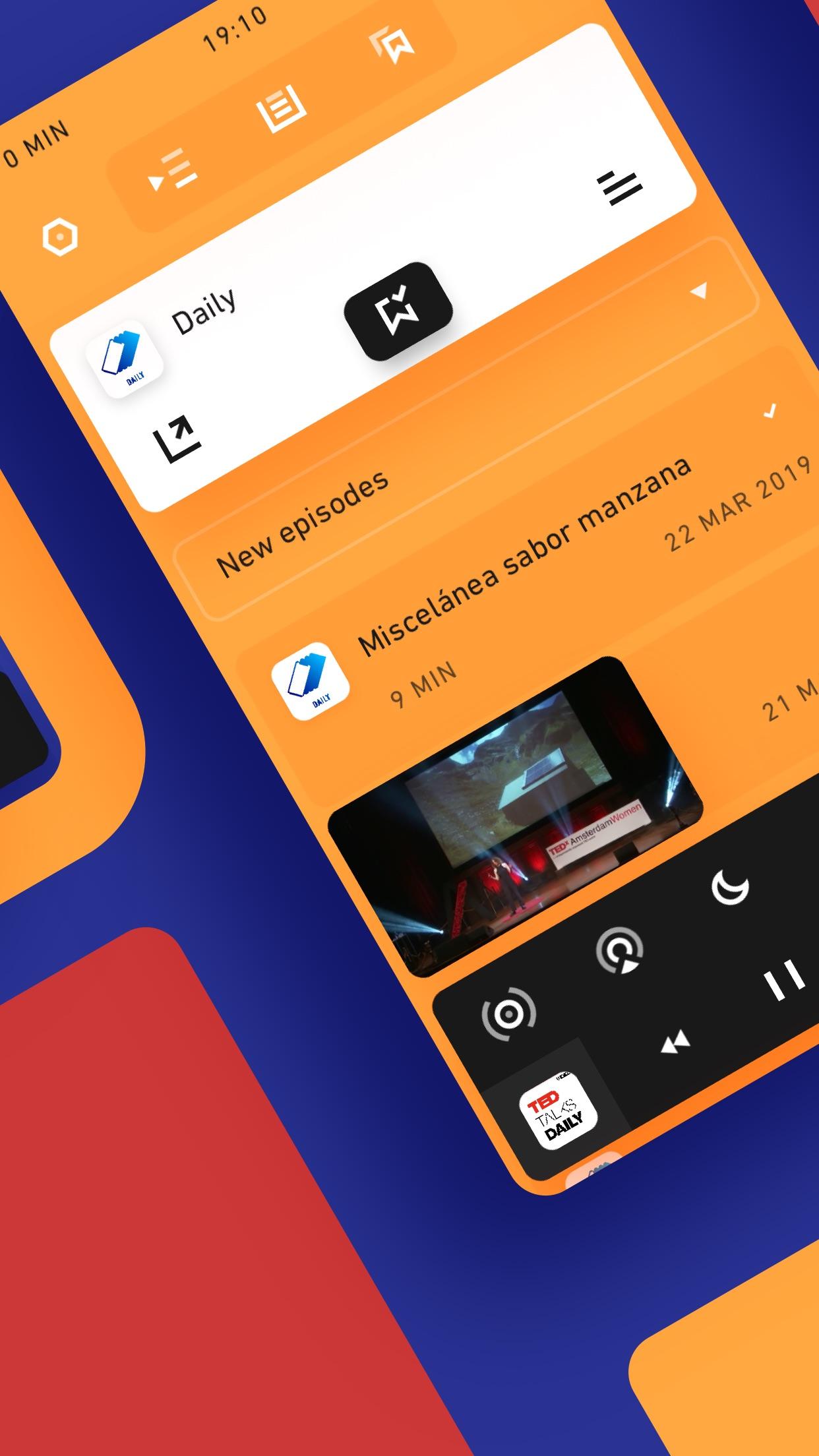 Screenshot do app Agora 2