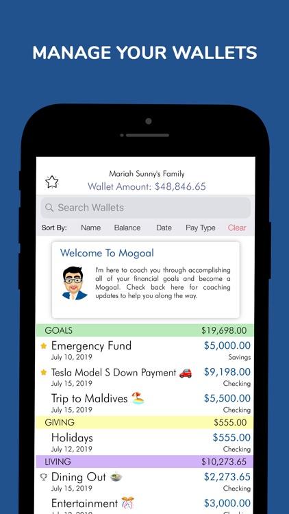 Mogoal – Budget & Wealth Coach screenshot-5