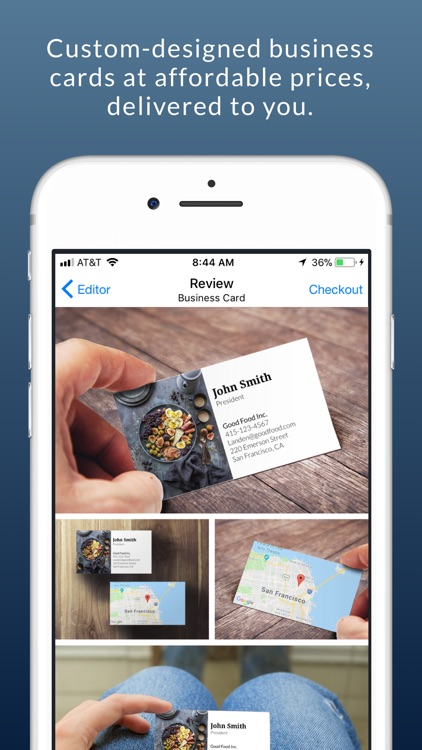 Impress: Business Card Maker screenshot-5
