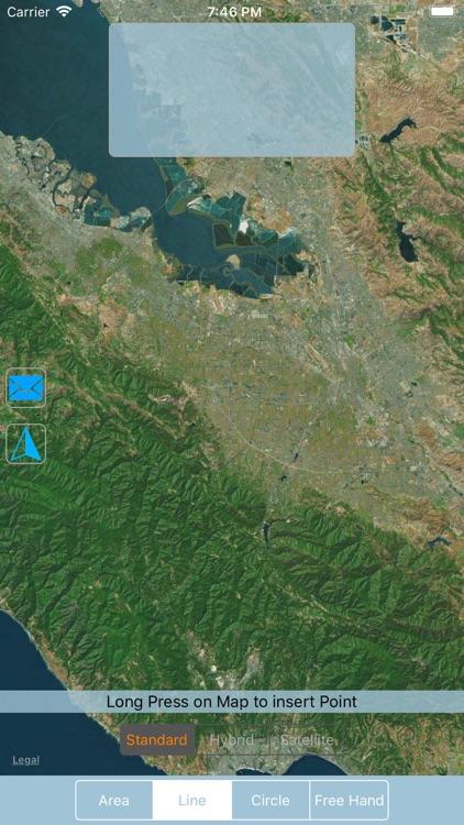Map Geo-Measure & Shape Tool screenshot-3