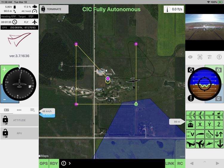 MicroPilot Horizon Drone GCS