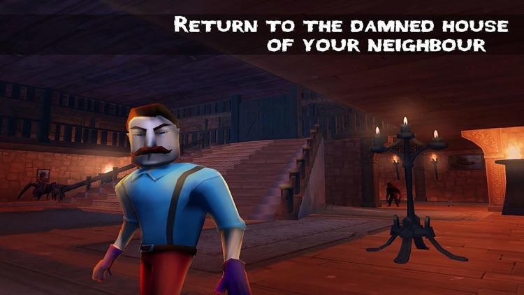 Scary Hello Neighbor Escape 3D screenshot-0