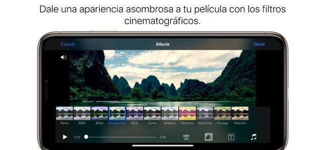 iMovie en App Store