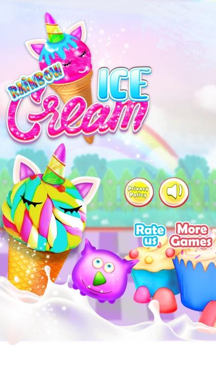 Rainbow Ice cream Popsicle screenshot-0