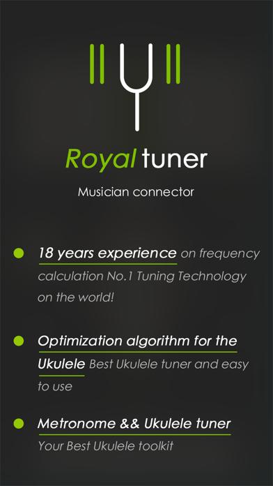 Tunefor Ukulele tuner & chords Screenshot