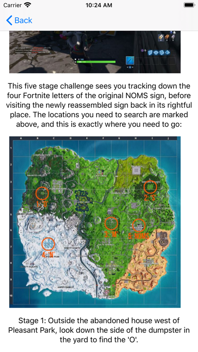 Foto do Challenges Map for Fortnite