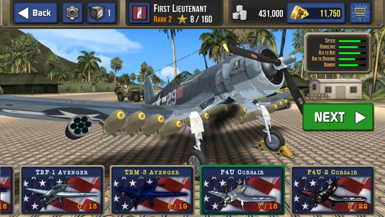 Air Combat Pilot: WW2 Pacific screenshot-3