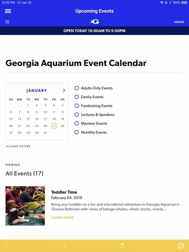 Georgia Aquarium on the App Store