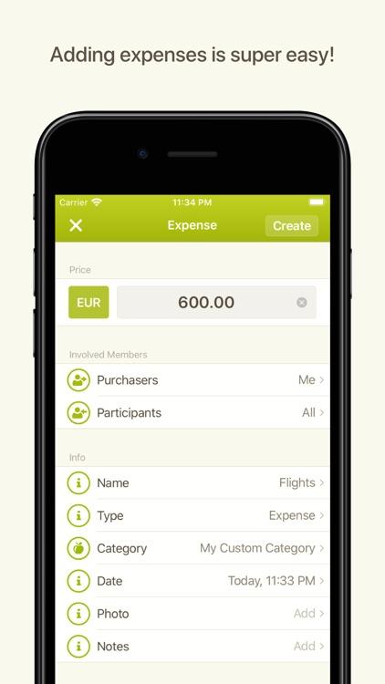 Splittr - Expense Splitting screenshot-4