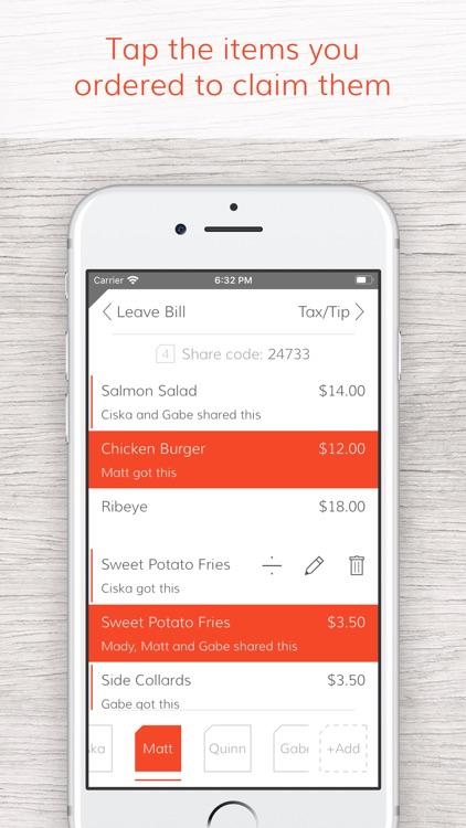 Tab - The simple bill splitter screenshot-3