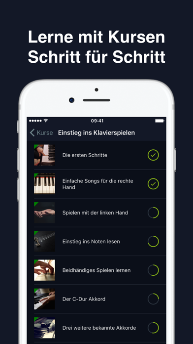 Screenshot for flowkey in Germany App Store