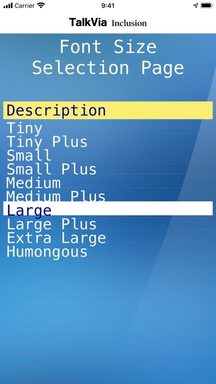 TalkVia Inclusion screenshot-8