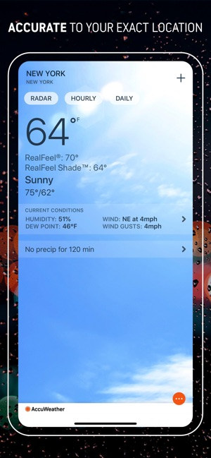AccuWeather: Weather Tracker on the App Store