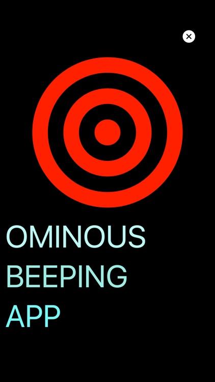 Ominous Beeping App +