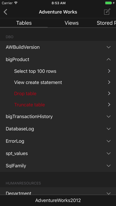 Sqlpro Studio Database Client review screenshots